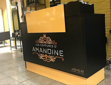 Salon - Les Coiffures d'Amandine