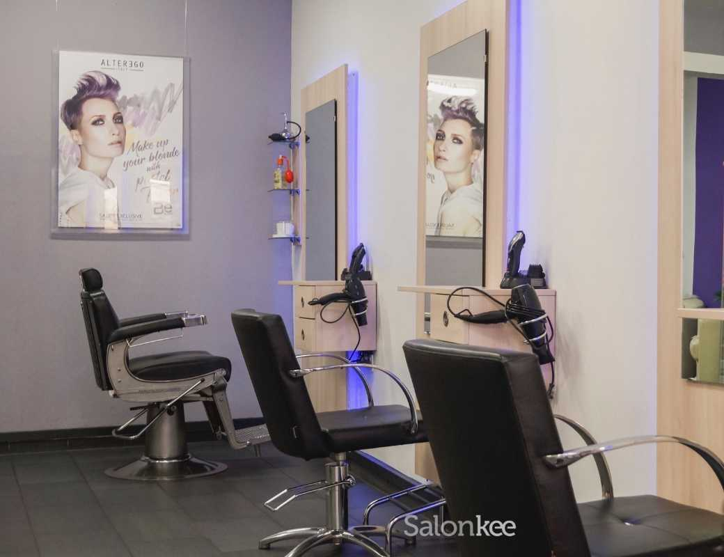 Salon - Moustache - Coiffure mixte